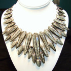 Orthoceras Fossil Sterling Silver Necklace