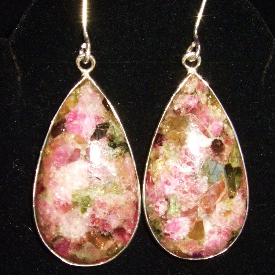 Tourmaline Sterling Silver earrings