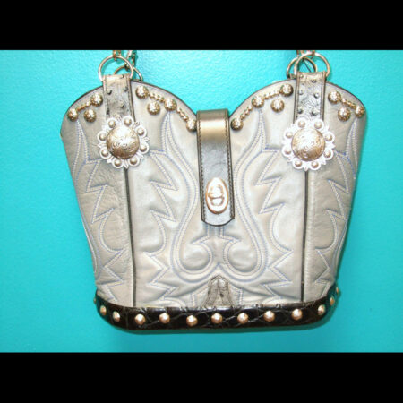 Cowboy Boot Handbag Purse