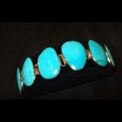 Turquoise Sterling Silver Bracelet